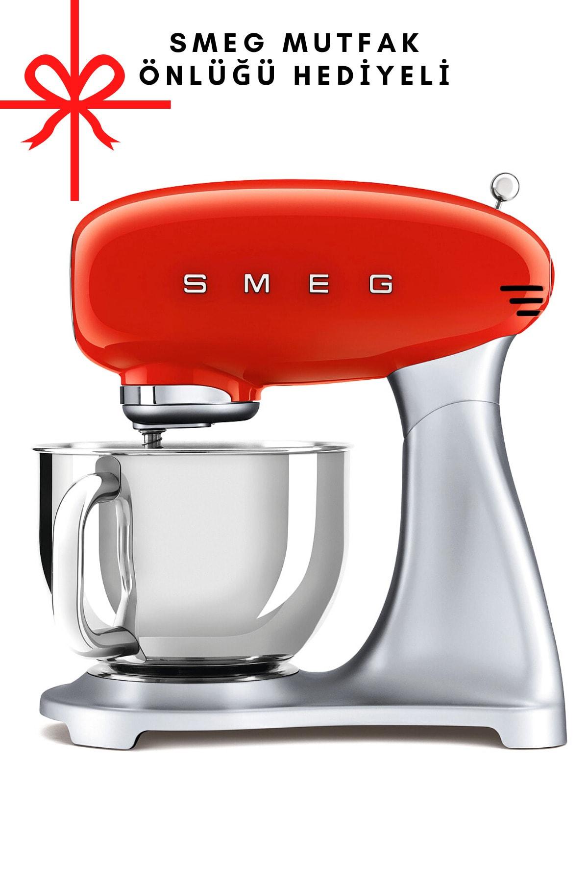 SMEG Kırmızı Stand Mikseri Smf01rdeu 1