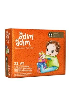Adım Adım Yayınları Adım Adım Bebek Eğitim Seti 22.ay