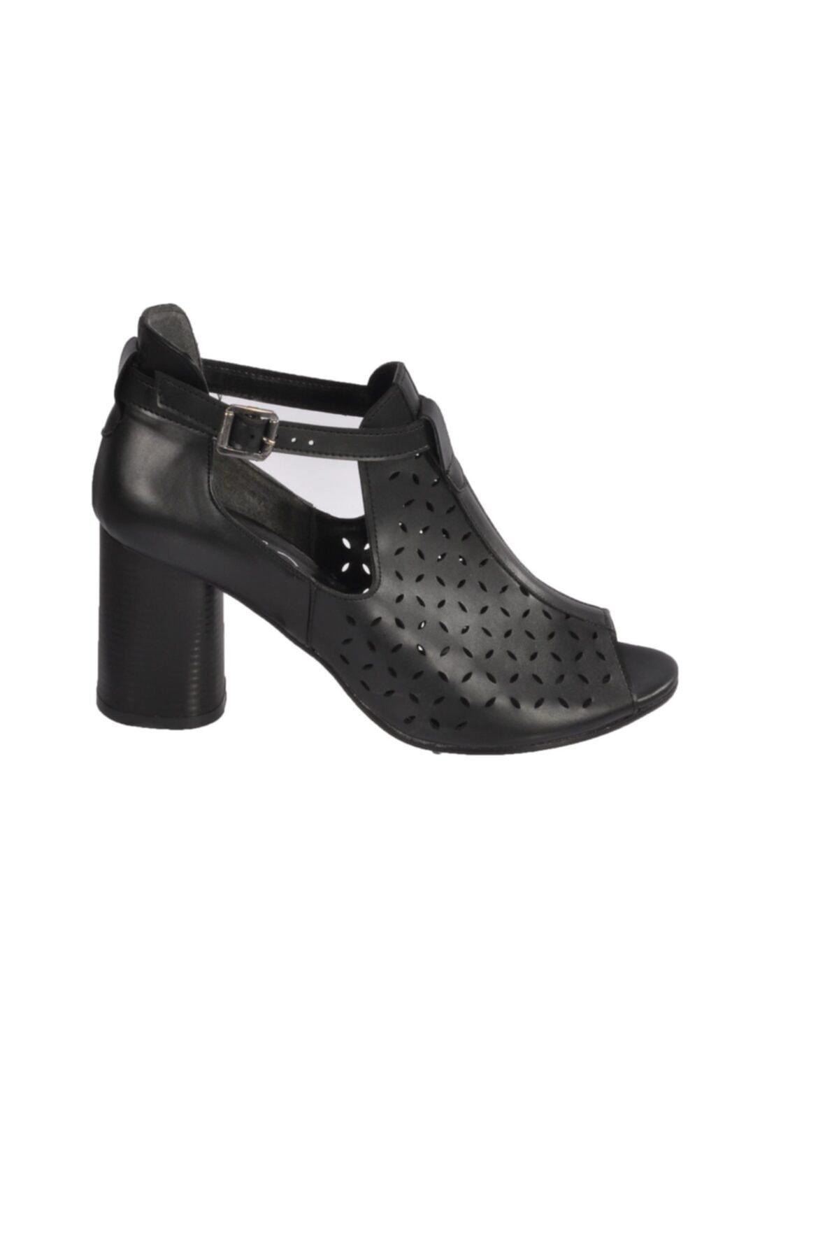 Maje Kadın  Siyah Topuklu Ayakkabı 2