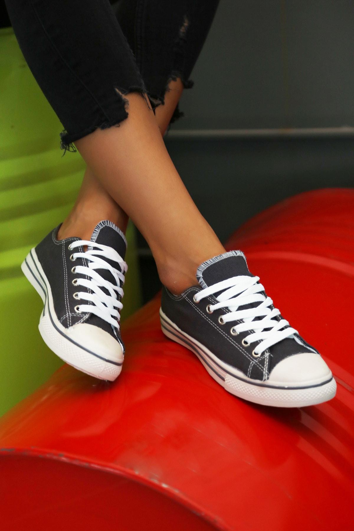 Ayakkabı Modası Füme Kadın Ayakkabı M9999-19-100165R 1