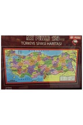 Art Puzzle 123 Parça Türkiye Siyasi Harita