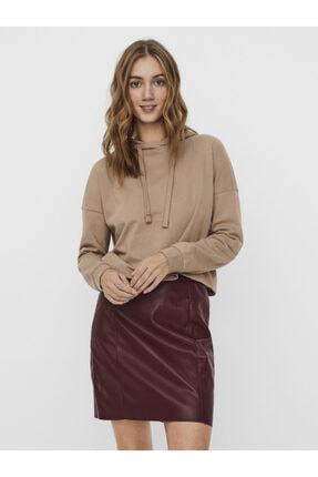 Vero Moda Kapüşonlu Crop Sweatshirt 10239735 Vmnoa