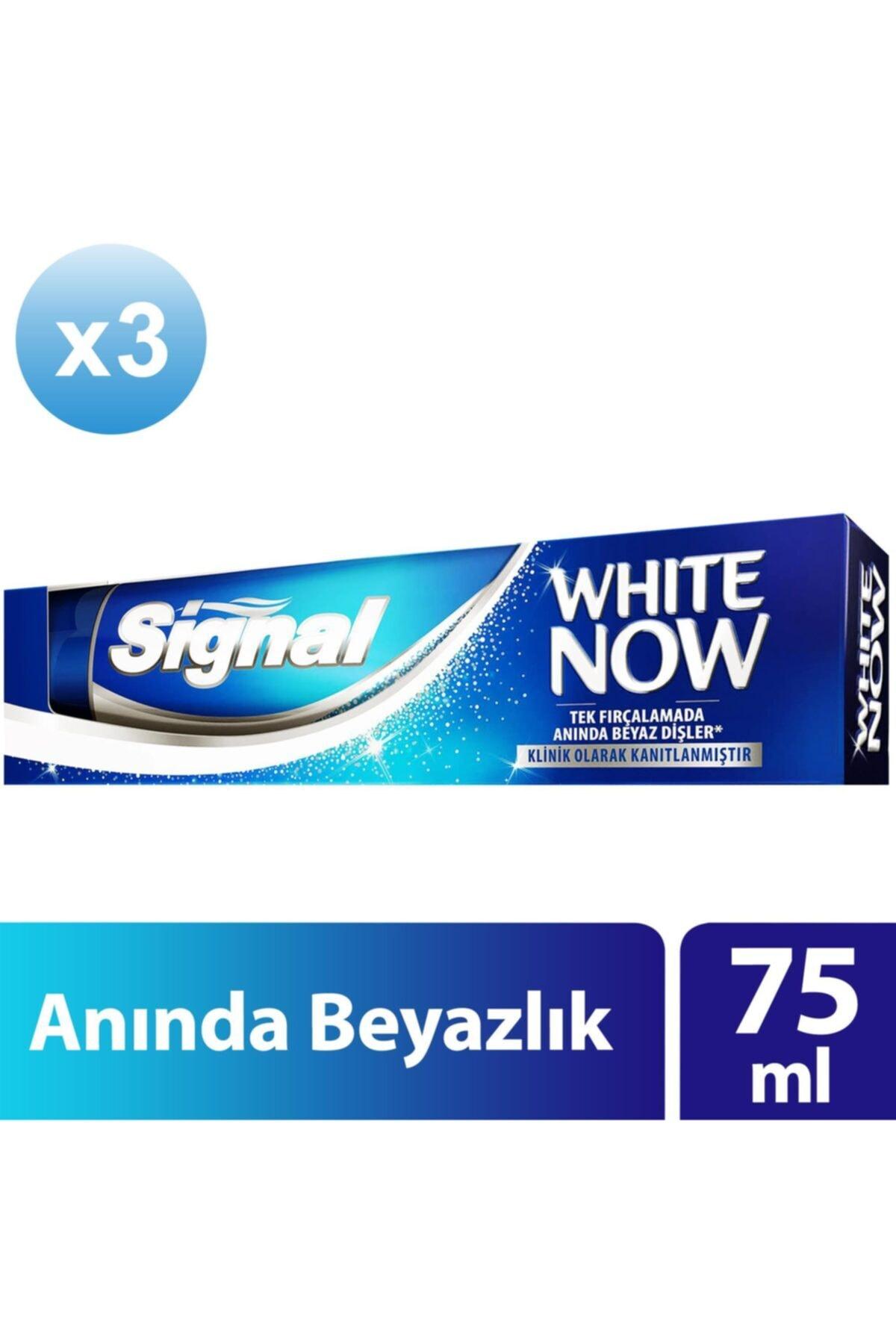Signal White Now Anında Beyazlık Sağlayan Diş Macunu 75 ml X3 2