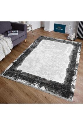 Pierre Cardin Halı Pierre Cardin Salon Halı Monet Mt40b 160x230 Gri-siyah-beyaz