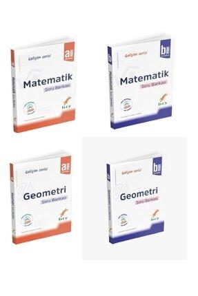 Birey Yayınları A + B Serisi Matematik Geometri Soru Bankası Set