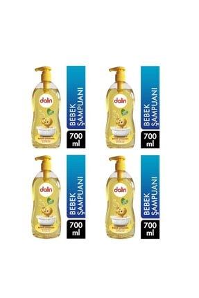 Dalin Bebek Şampuanı 700 Ml Pompalı 4 Lü Set