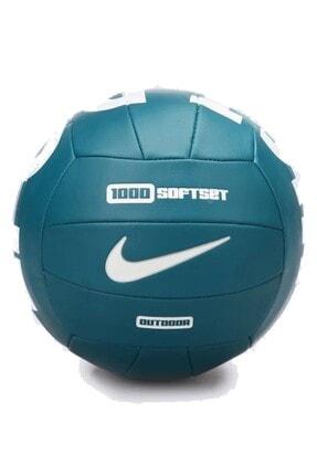 Nike Nıke 1000 Softset Outdoor Volleyball 18p Geode Teal Top N.000.0068.345.05