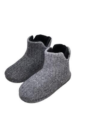 TREND AYAKKABI Kaydırmaz Taban Erkek Ev Botu Ev Ayakkabısı