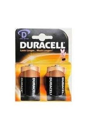 Duracell 1.5 Volt Kalın Boy Pil - 2 Adet