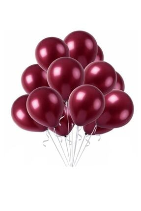 Kullan At Market Metalik Bordo Balon 30cm (12 Inch) 10lu