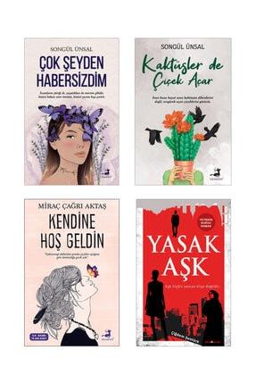 Olimpos Yayınları Çok Şeyden Habersizdim, Kaktüsler De Çiçek Açar, Kendine Hoş Geldin , Yasak Aşk (4lü Set)