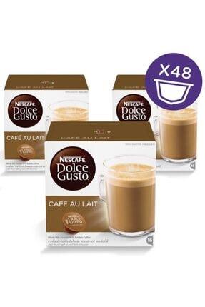 Nescafe Dolce Gusto Au Laıt Kapsül Kahve 16 Adet X 3 Kutu