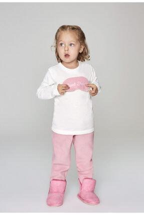 Wonder Kıds Kız Çocuk Pembe Pijama Takımı Wk19aw1257