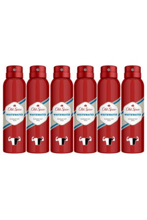 Old Spice Whitewater Deodorant 150 Ml X 6 Adet