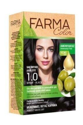 Farmasi Farmacolor Saç Boyası Amonyaksız Siyah 1.0