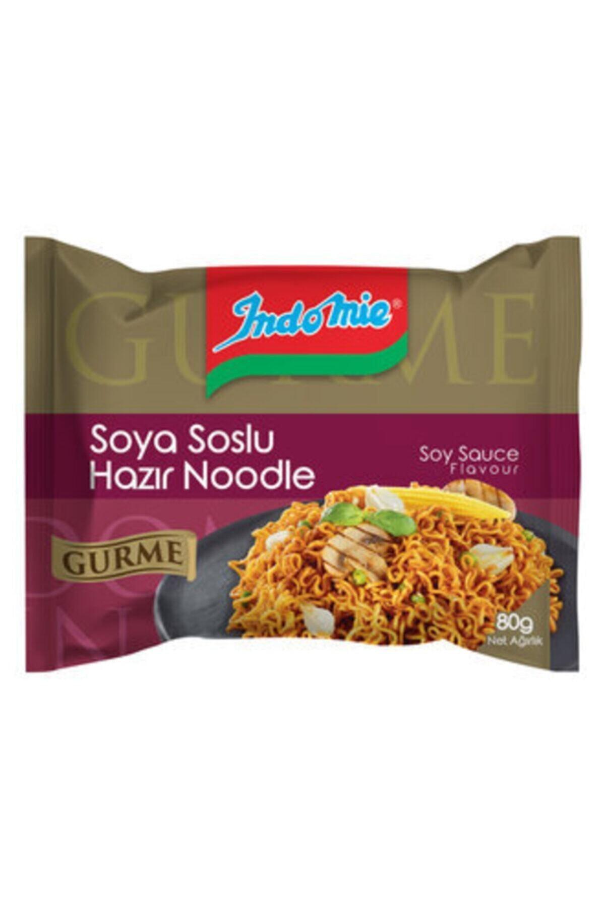 İndomie Indomie Indomie Gurme Soya Soslu Hazır Noodle 80 G 1
