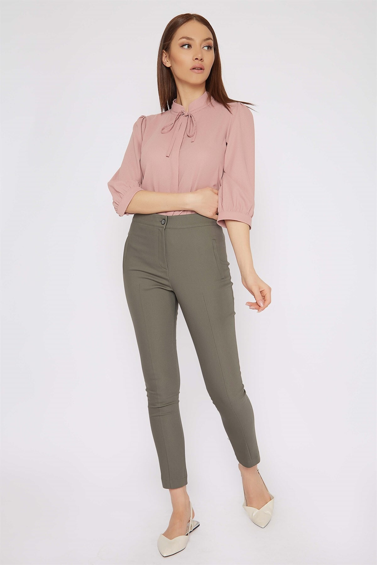 Chima Beli Lastikli Pantolon 2