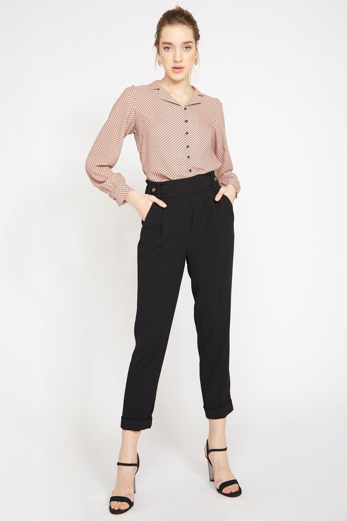 Chima Arkası Lastikli Pantolon 1