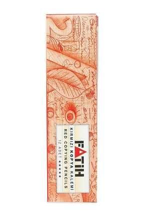 Fatih Kırmızı Kopya Kalemi 12'li -25020