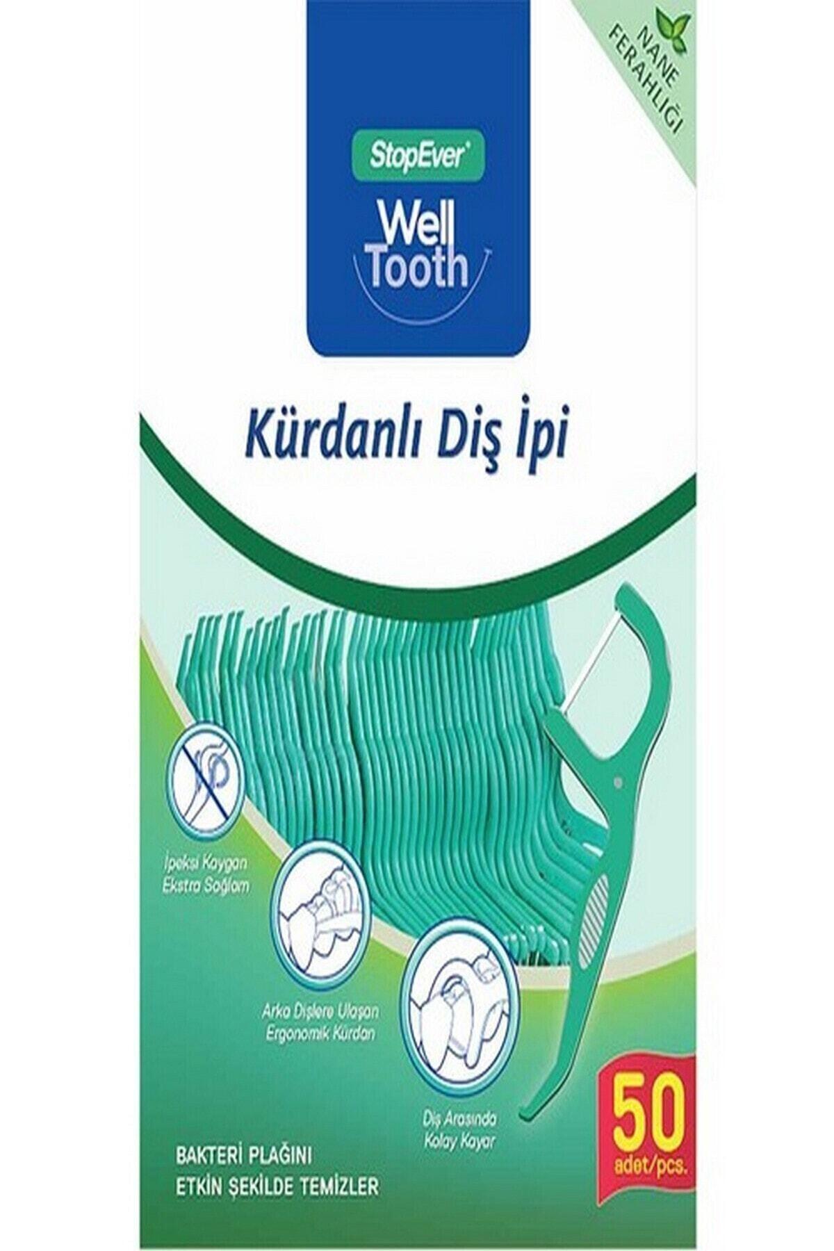 StopEver Well Tooth Kürdanlı Diş Ipi 2