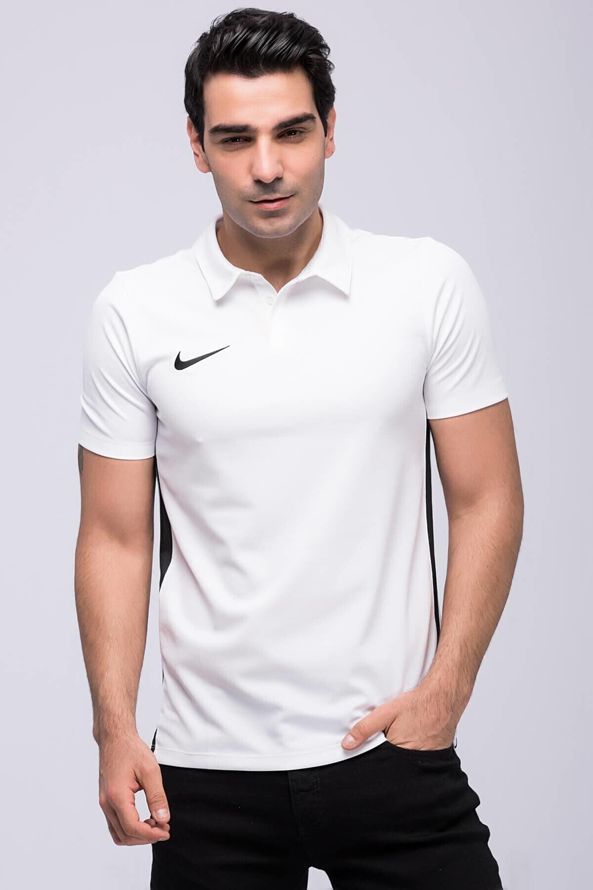 Nike Erkek Beyaz Dry Academy 18 Ss Polo T-shirt 899984-100 1