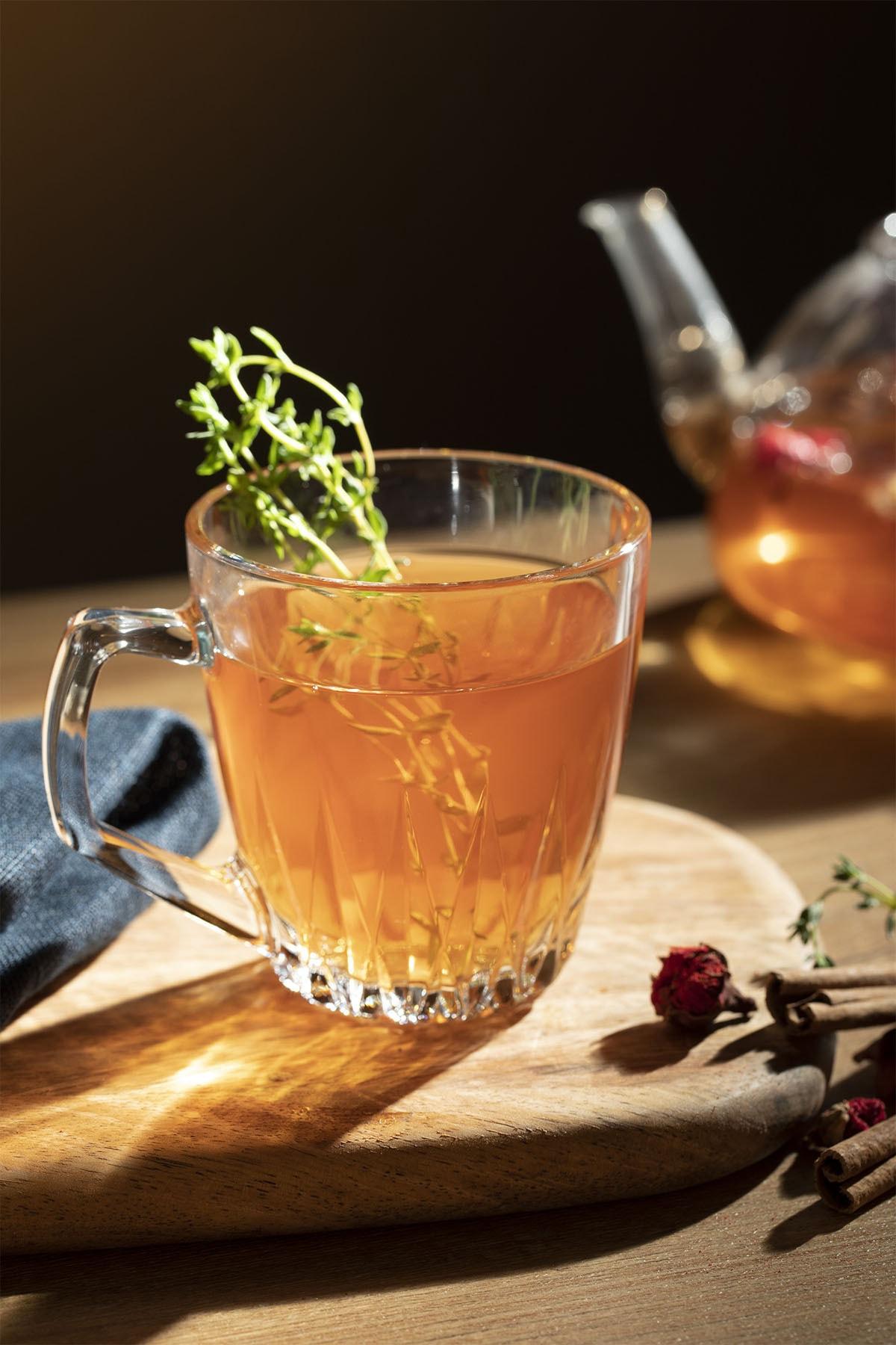 English Home Safir Çay Fincanı 250 Ml Şeffaf 1