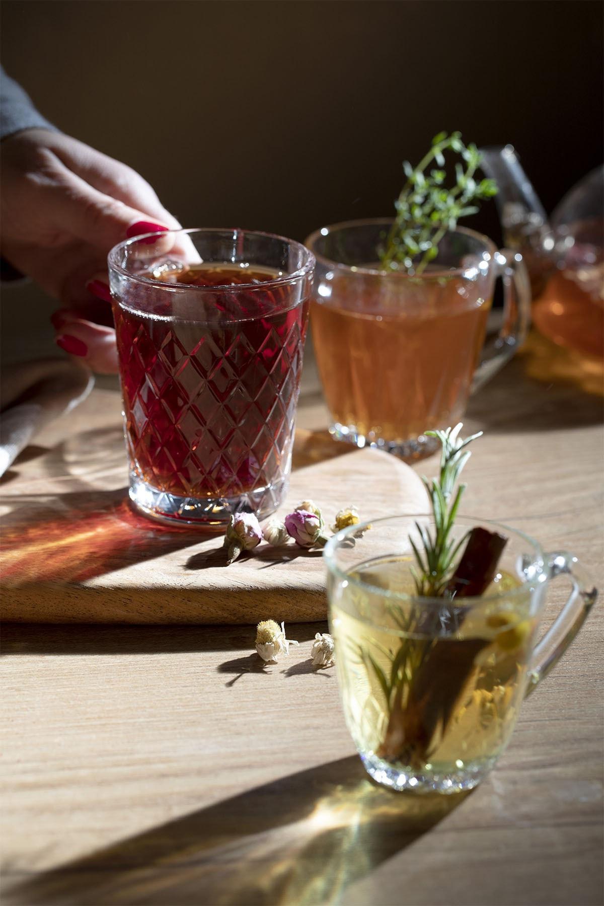 English Home Safir Çay Fincanı 250 Ml Şeffaf 2