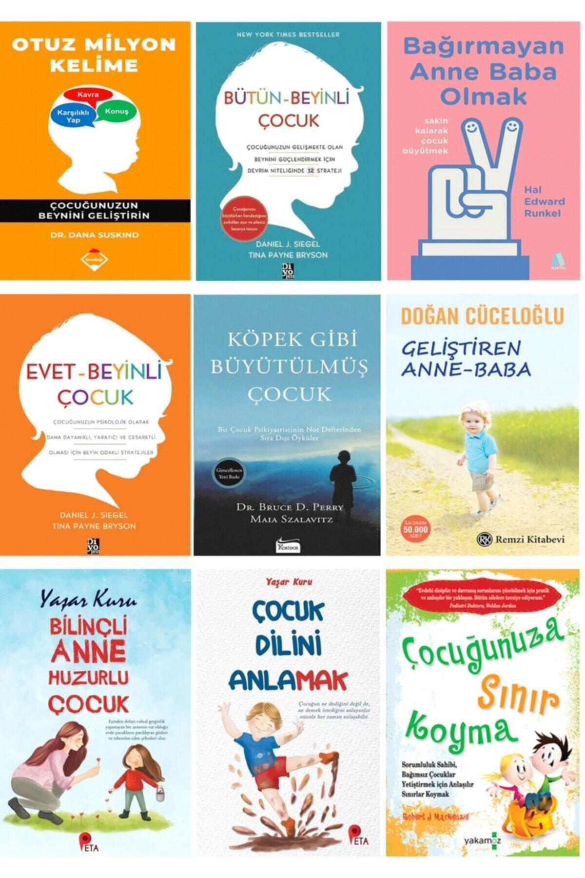 peta kitap Çocuk Gelişim Seti (Otuz Milyon Kelime, Bütün-beyinli Çocuk, Bağırmayan Anne Baba Olmak + 6 Kitap) 1
