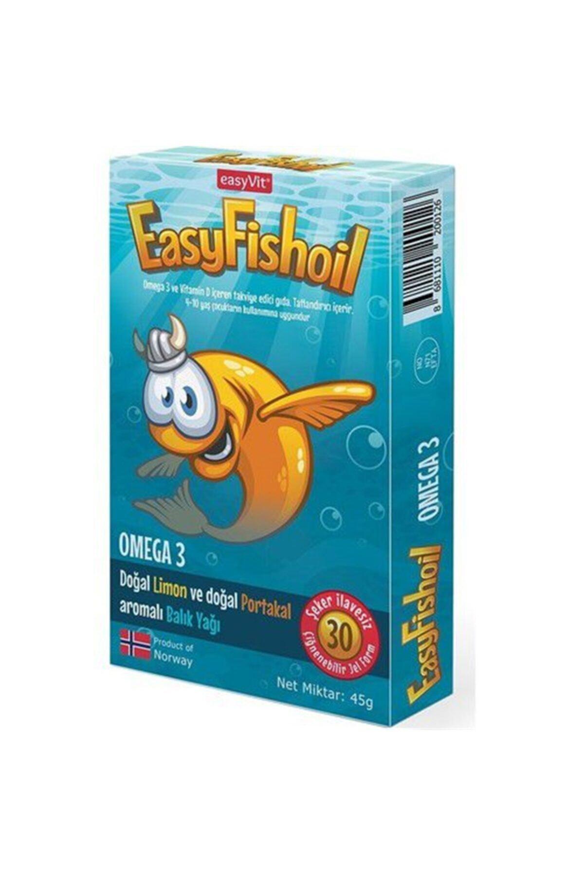 tekyerdenal Easy Fish Oil 30 Jel Tablet 1