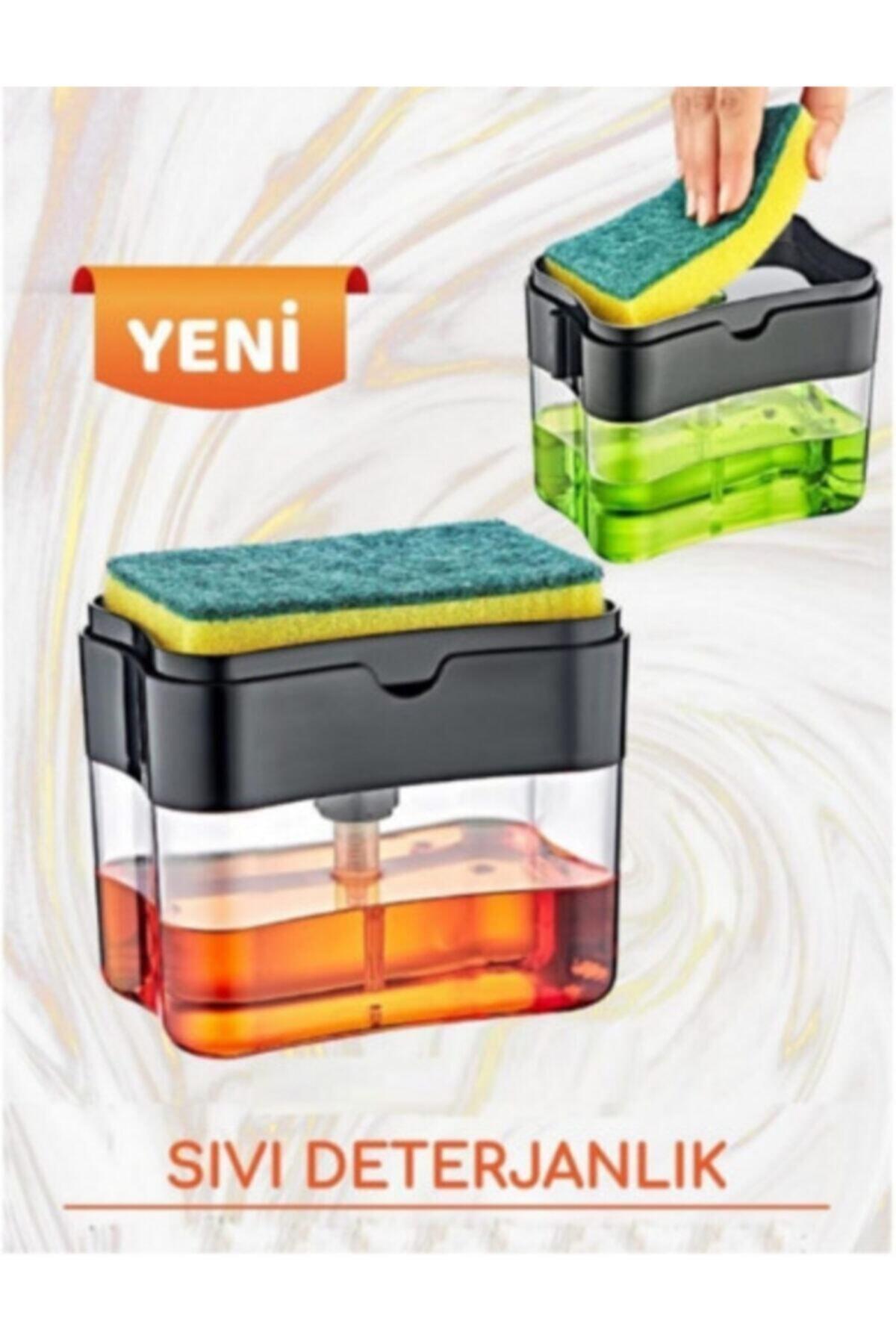 Baysal Sıvı Sabunluk Pompalı Sünger Hazneli 1