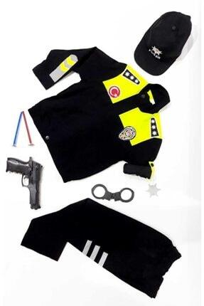 Liyavera Trafik Polis Kostümü Çocuk Kıyafeti