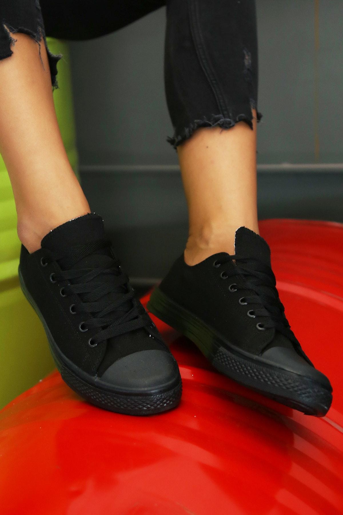 S1441 Kadın Siyah Ayakkabı 9999-19-100165 1