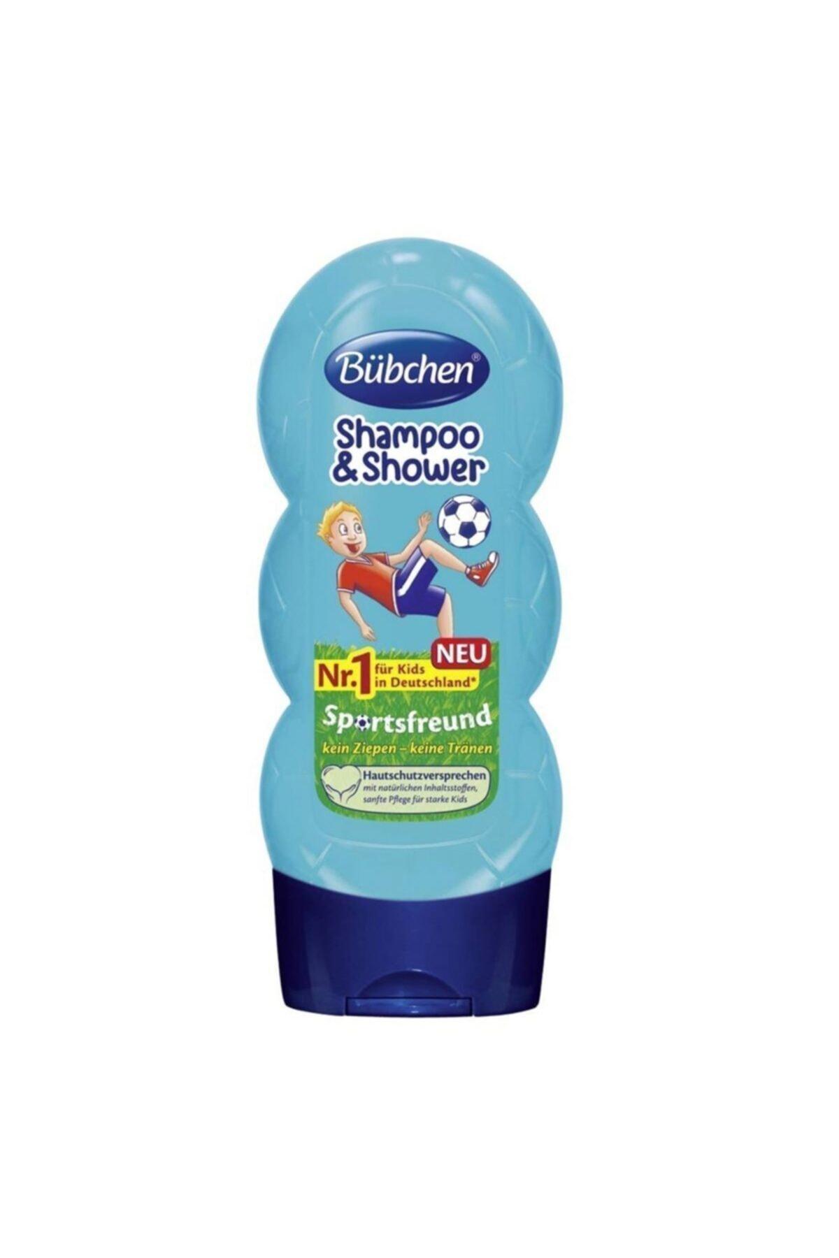 Bübchen Çocuk Şampuan Ve Duş Jeli Sport 230 ml 1