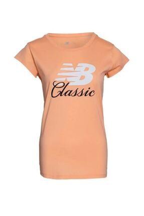 New Balance Kadın Turuncu T-shirt Wps001-fjı