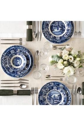 Karaca New Blue Odyssey 6 Kişilik Yemek Takımı