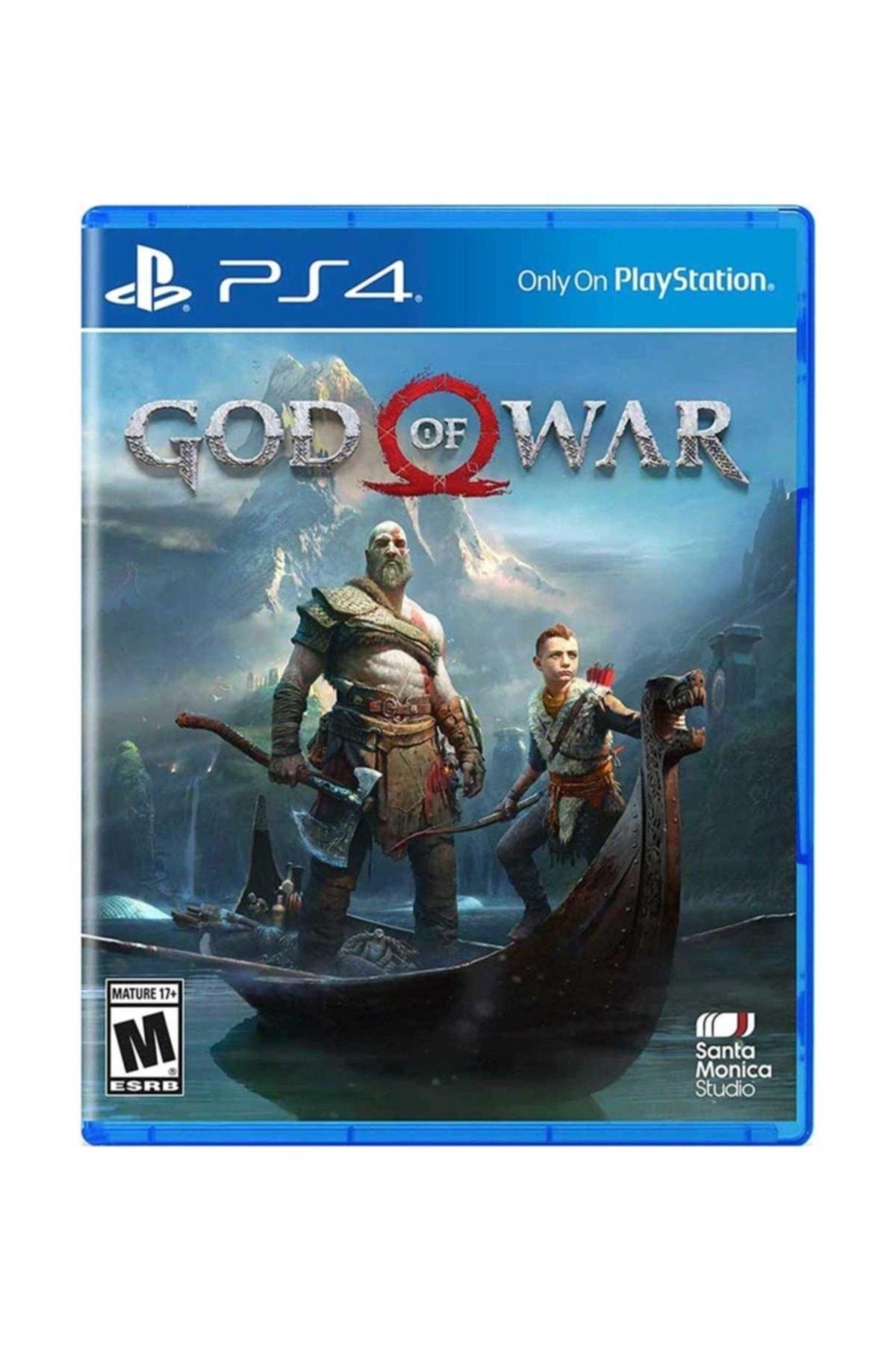 Santo Monica Studio God Of War Ps4 Oyun - Türkçe Altyazı 1