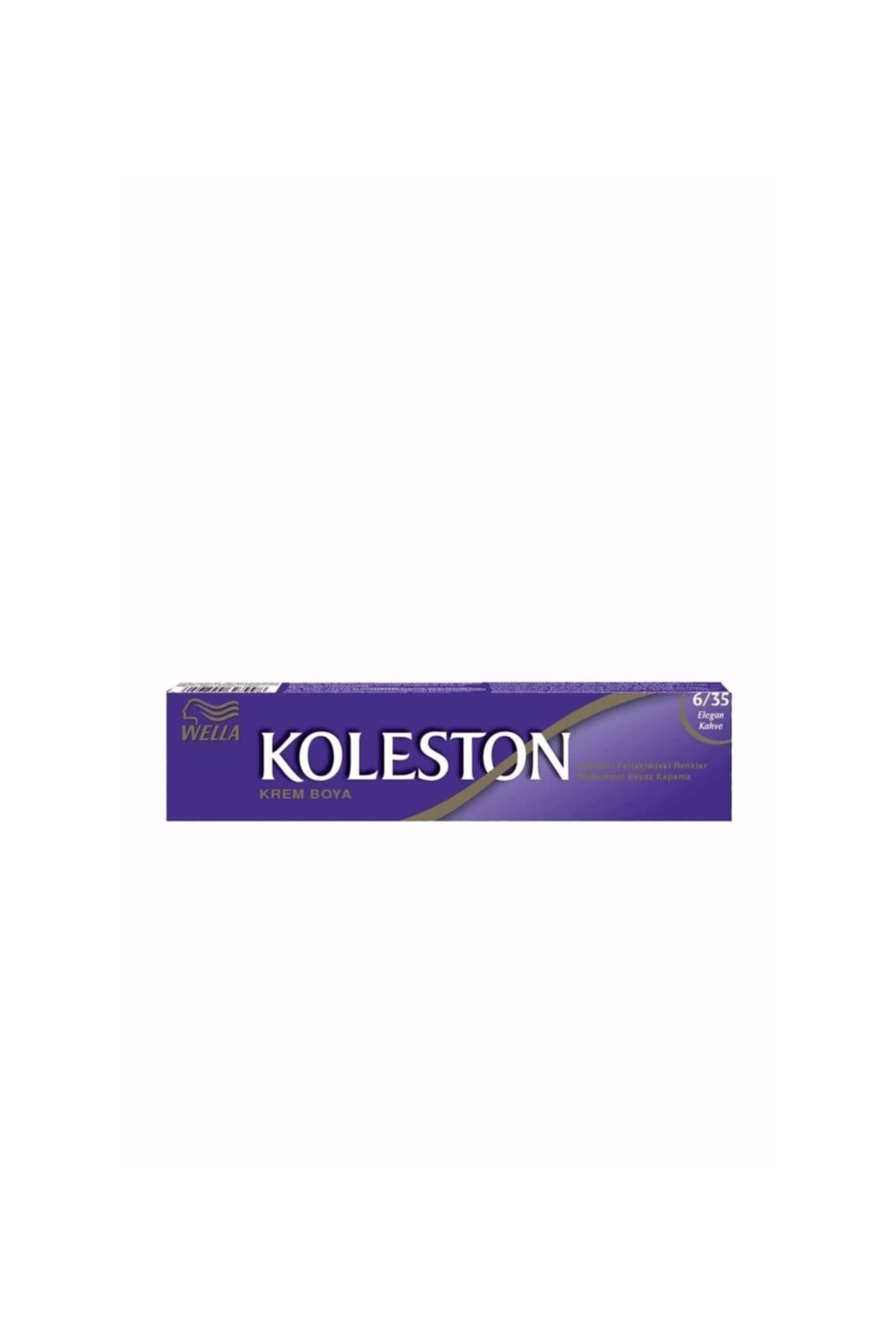 Colgate Koleston Tüp 6.35 Saç Boyası Elagan Kahve 1