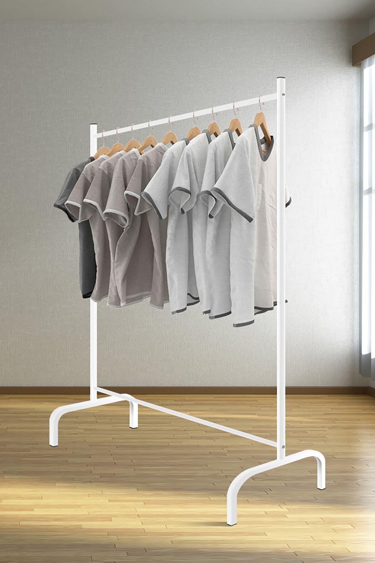 Tedarikcenter Metal Konfeksiyon Askısı Konfeksiyon Elbise Askılığı Eşek Askılık 1