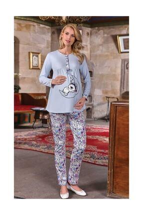 Berrak Bayan Hamile Pijama Takımı