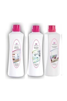BioBellinda 3lü Temizlik Paketi ( Yağ Kir-pas Kireç-cam Mobilya)