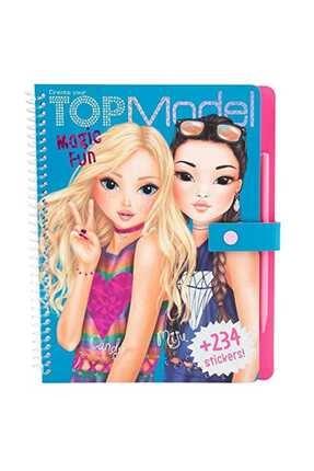 Top Model Magic Fun Boyama Kitabi 10015 /
