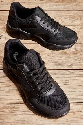 Bambi Siyah Erkek Sneaker L1806062722
