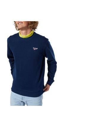 Reebok SMALL VECTOR CREW Lacivert Kadın Sweatshirt 100584432