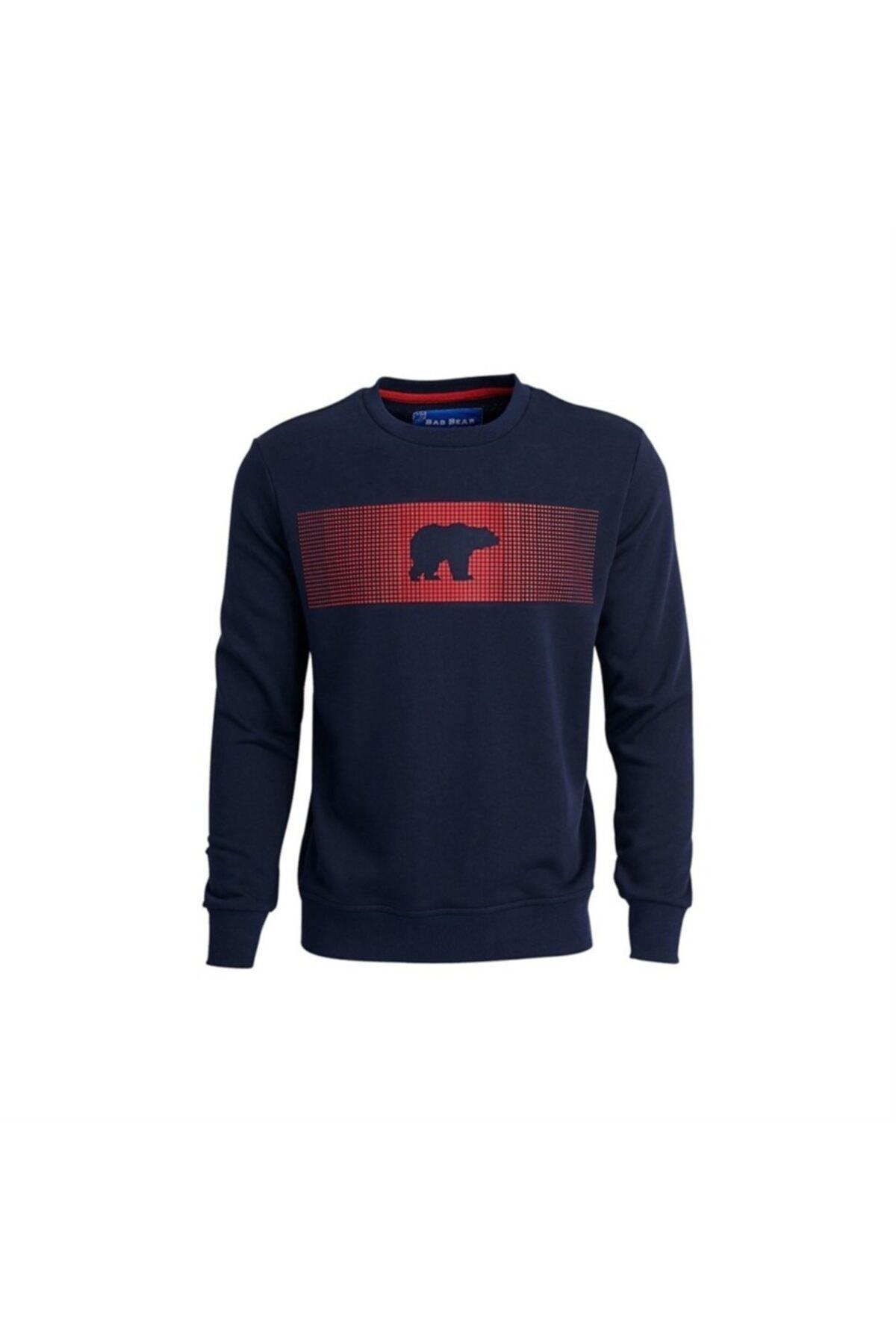 Bad Bear Erkek Lacivert Fancy Sweatshirt 1