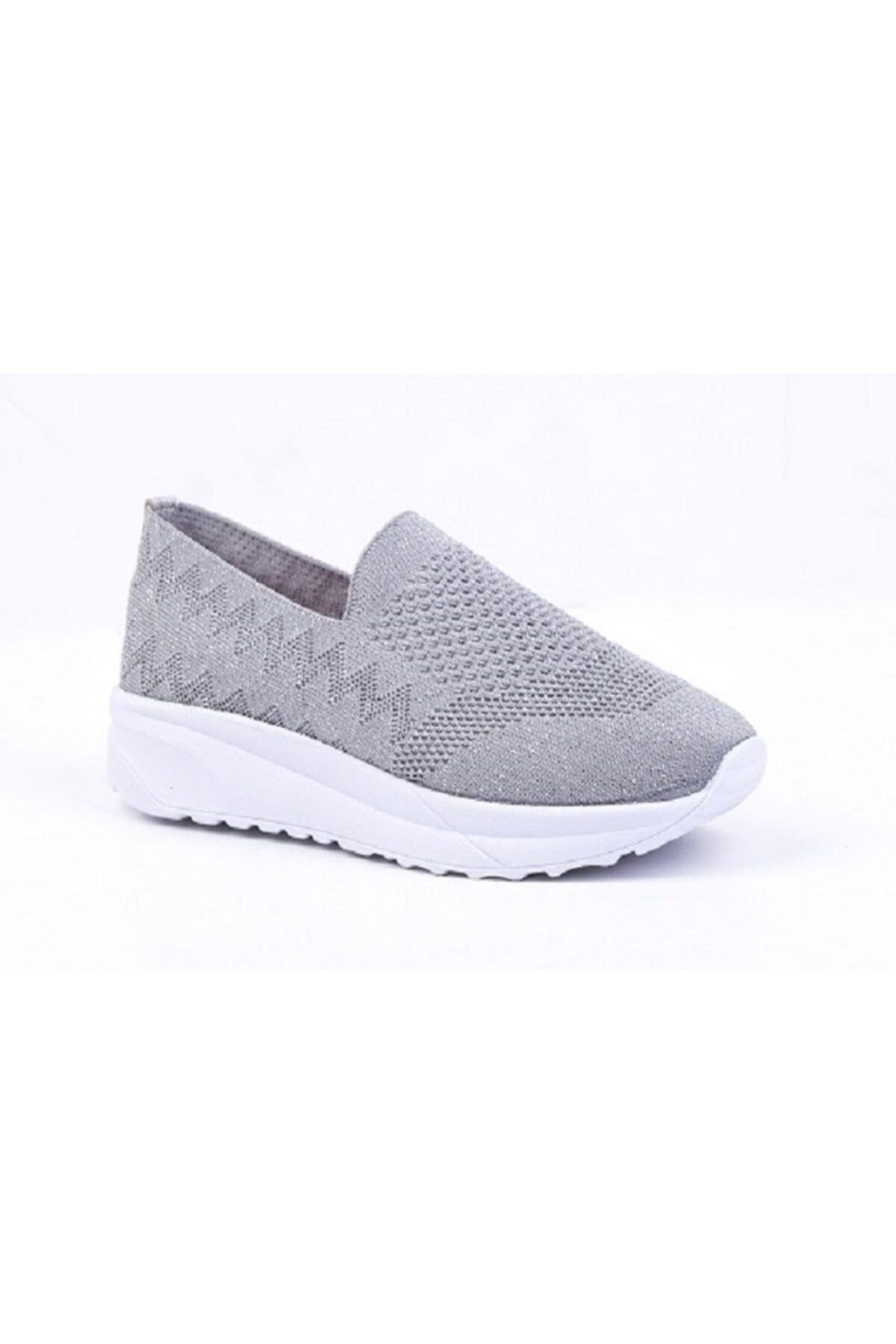 DR SOFT Kadın Gri Konfor ve Yürüyüş Ayakkabısı 1