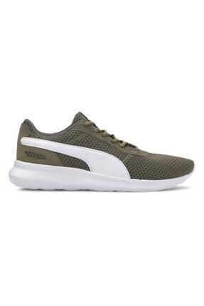 Puma ST ACTIVATE Açık Haki Erkek Koşu Ayakkabısı 100583335