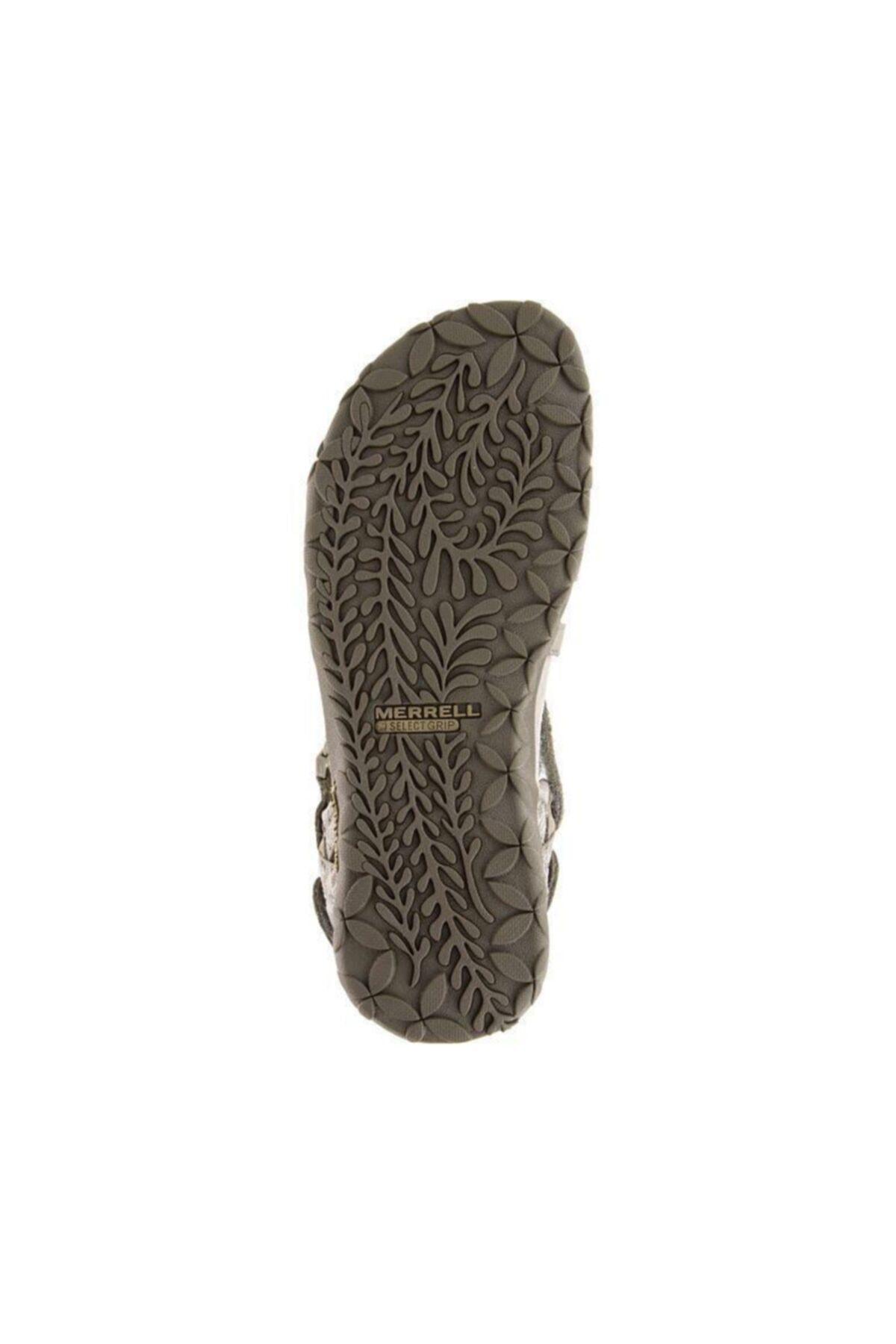 Merrell J02766 Terran Lattice 2 Taupe Taupe Kadın Sandalet 2