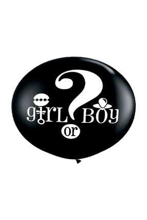 TT Tahtakale Toptancıları Balon Cinsiyet Belirleme Balonu Çift Tarafı Baskılı 36 Inç(90 Cm) Mavi