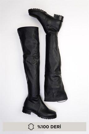Bambi Siyah Kadın Çizme G0429990303