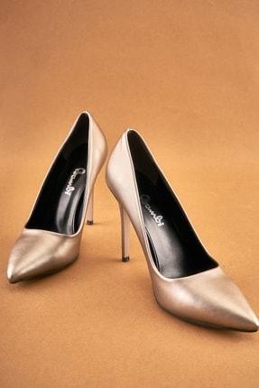 Bambi Kurşun Kadın Ayakkabı K0596177009